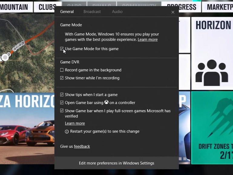 Le mode jeu de Windows 10 arrive et voici comment l'activer