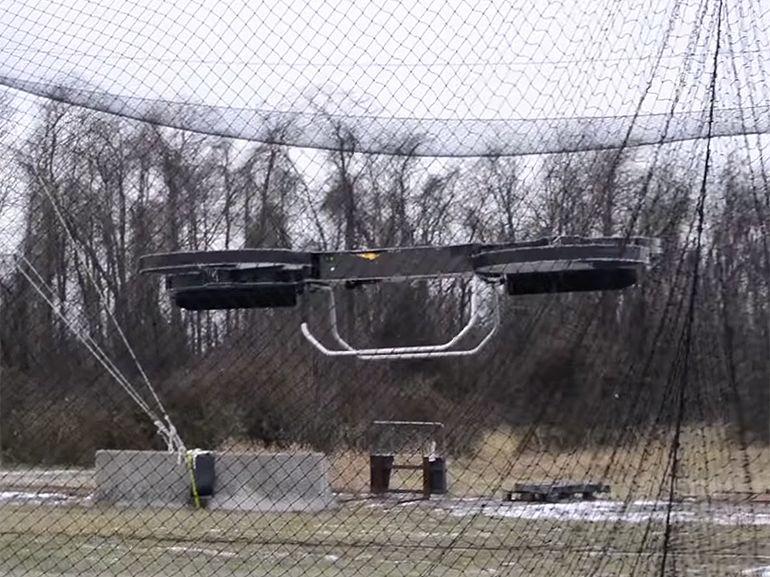 Drones : l'armée américaine montre une moto volante