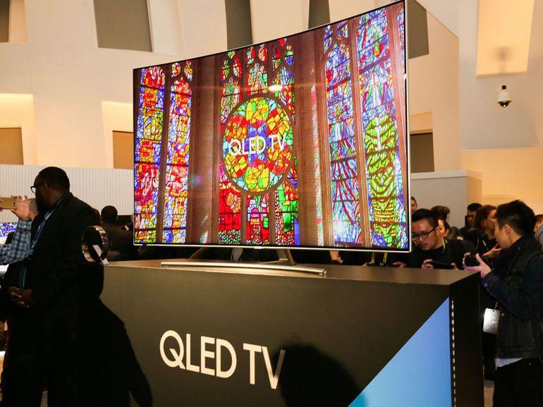 CES 2017 : Samsung donne dans le QLED pour ses téléviseurs