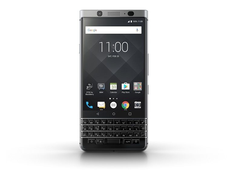 MWC : Blackberry KEYone, clavier physique et design attrayant