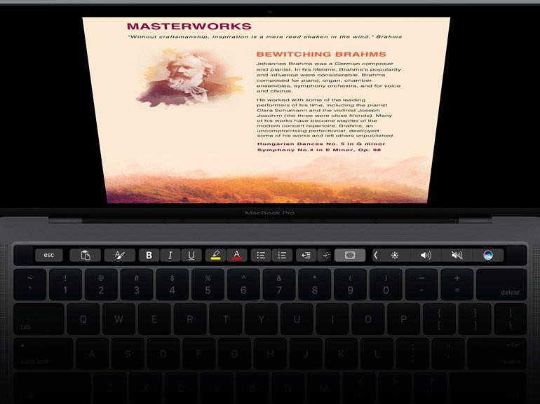 Office pour Mac : prise en charge de la Touch Bar du MacBook Pro