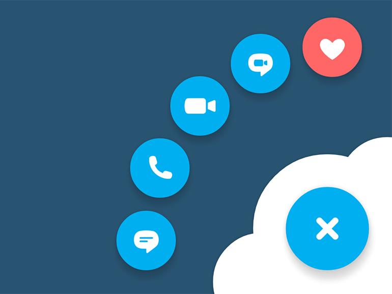 L'extension Skype pour Chrome va vous donner des boutons (pour communiquer)