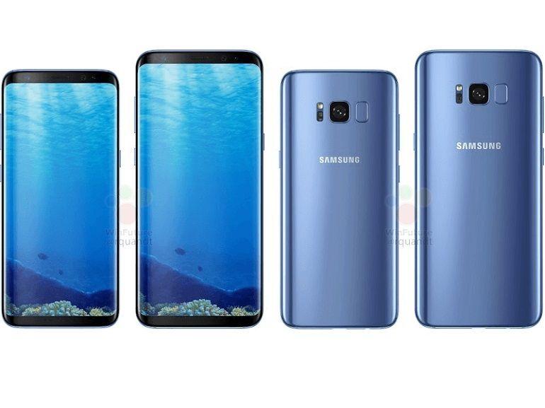 """Samsung Galaxy S8 : le plein de nouvelles images, dont une qui """"confirme"""" la reconnaissance d'iris"""