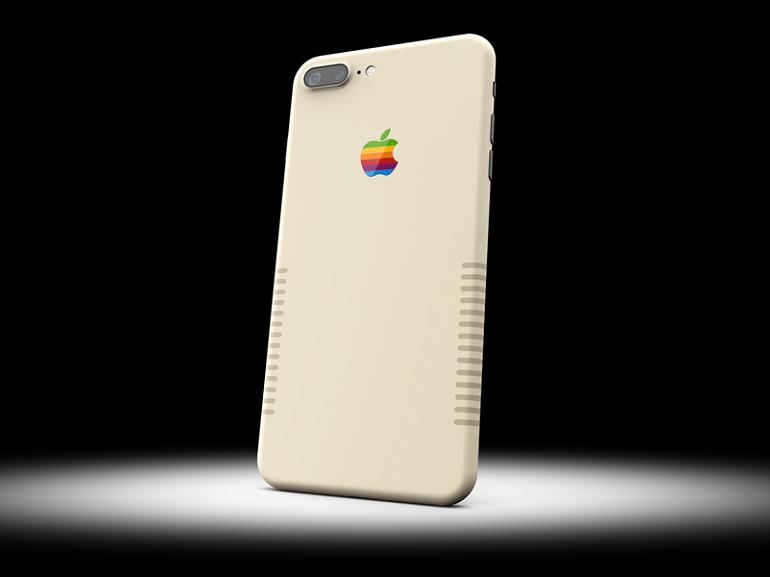 Un iPhone 7 Plus aux airs de Macintosh des années 80, ça vous tente ?