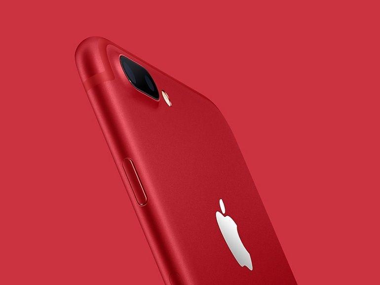 Apple met à jour son iPad et lance un iPhone 7 Rouge