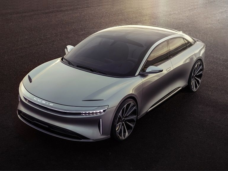 La Lucid Air se rêve en chasseuse de Tesla Model S