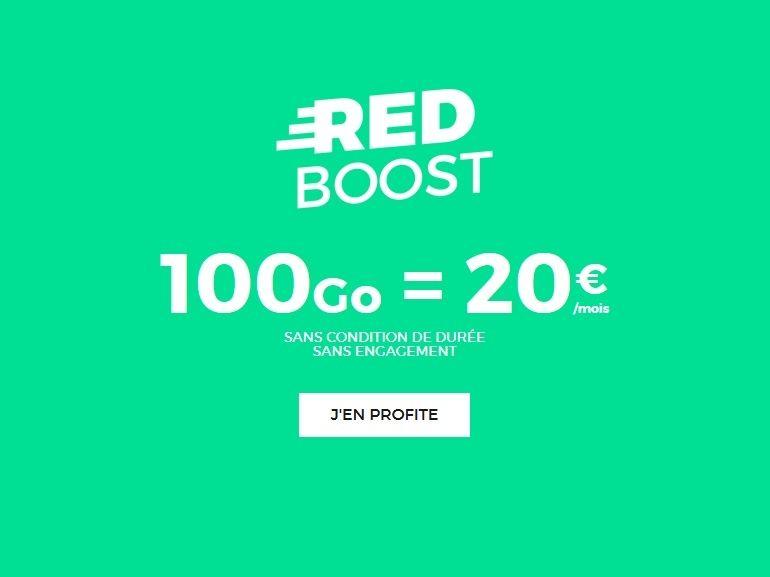 SFR : le forfait RED avec 100 Go de data pour 20€ devient permanent
