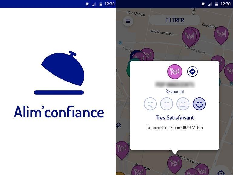 Une application révèle les contrôles d'hygiène des restaurants, supermarchés et cantines