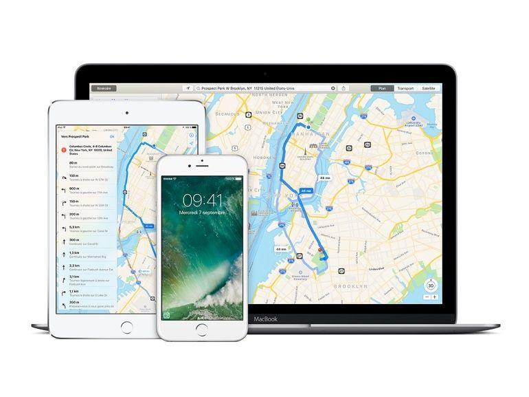 Apple Plans gère les transports en commun dans Paris