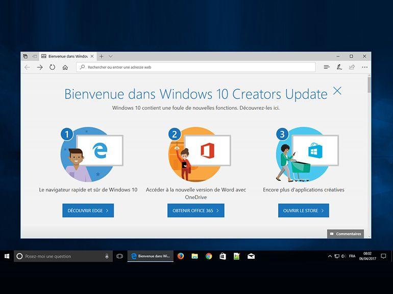 Windows 10 : téléchargez et installez Creators Update avec l'outil Microsoft