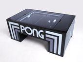 La table basse pour jouer au mythique Pong bientôt commercialisée