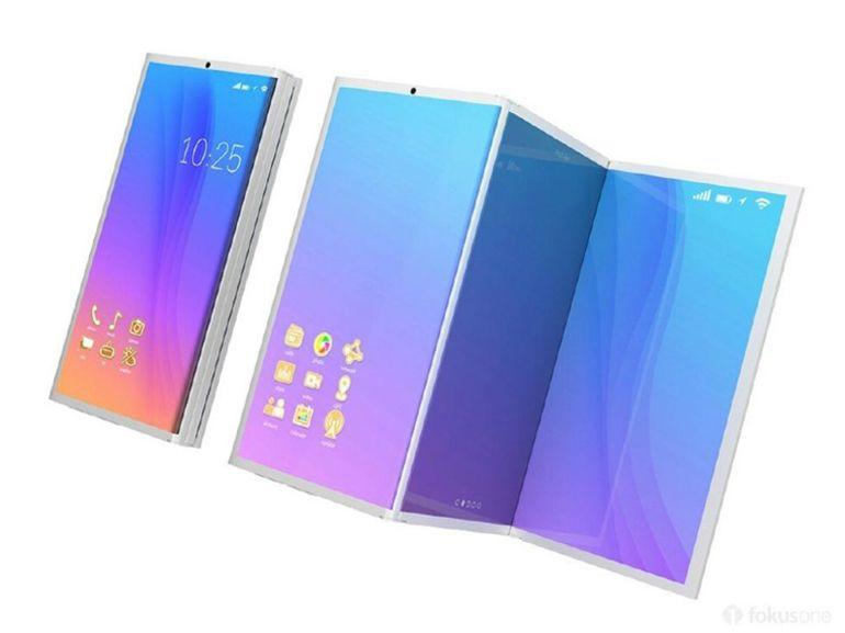 Samsung Galaxy X : des smartphones repliables à double écran Oled bientôt testés ?