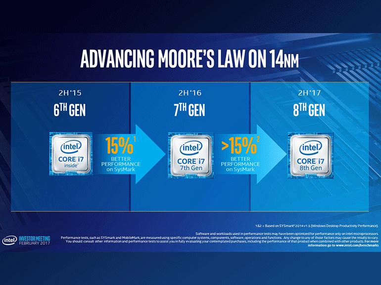 Intel Coffee Lake : une 8ème génération de processeurs encore plus puissants