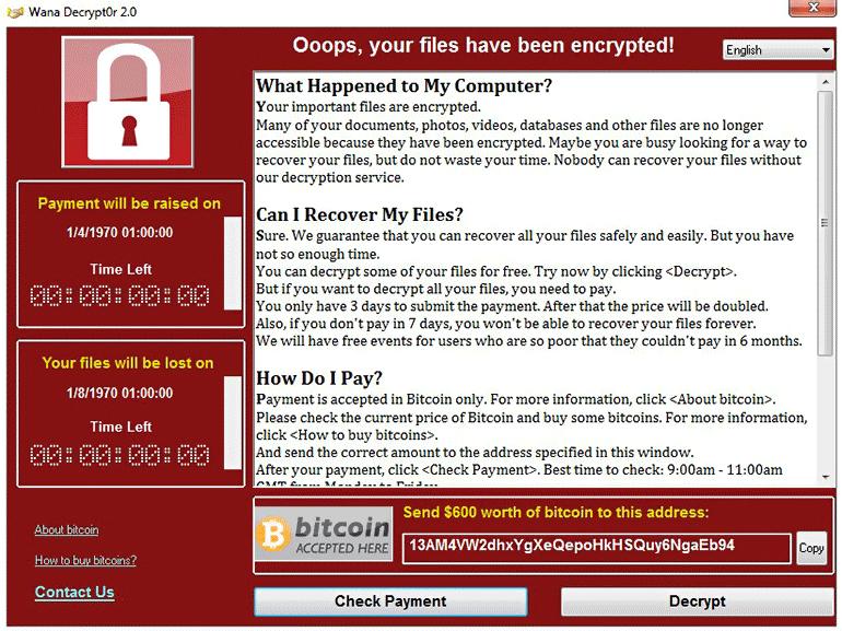 Attaque WannaCrypt : Microsoft propose des mises à jour de sécurité supplémentaires