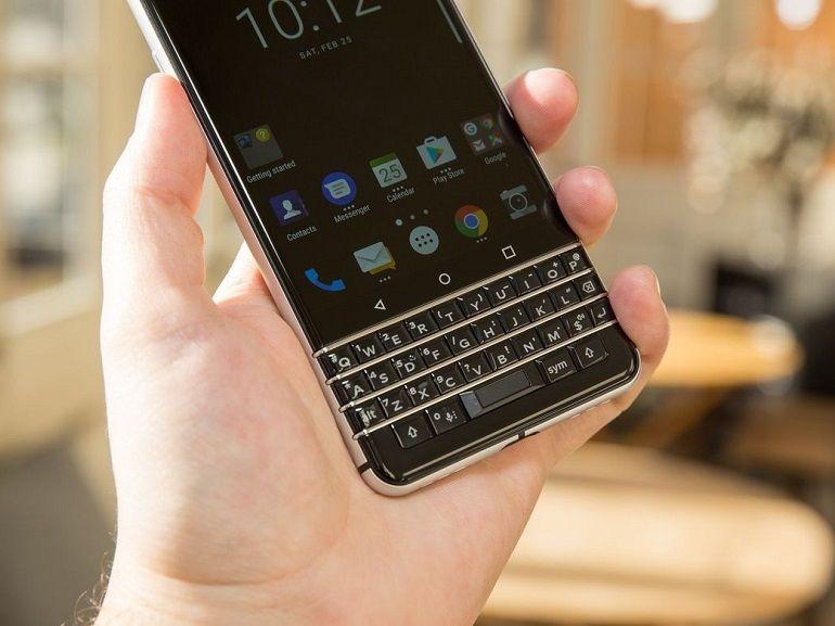BlackBerry KEYone : lancement prévu le 1er juin à 599€