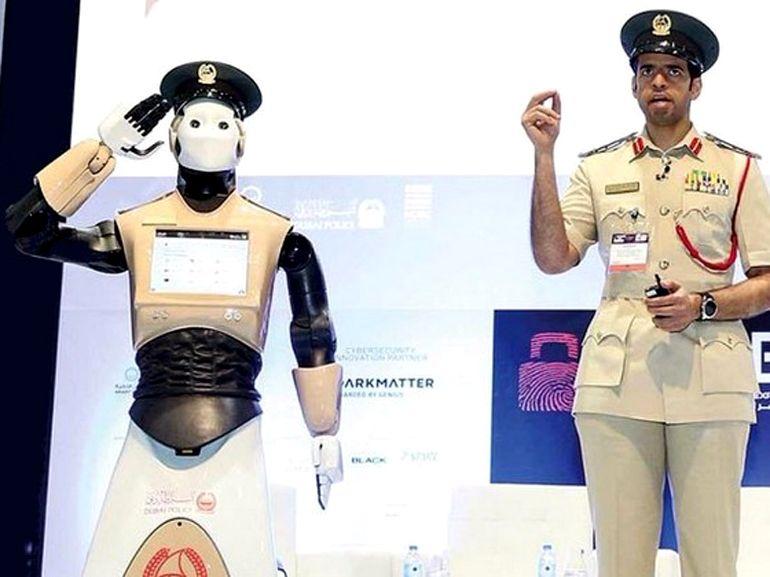 Le premier Robocop a été déployé à Dubaï