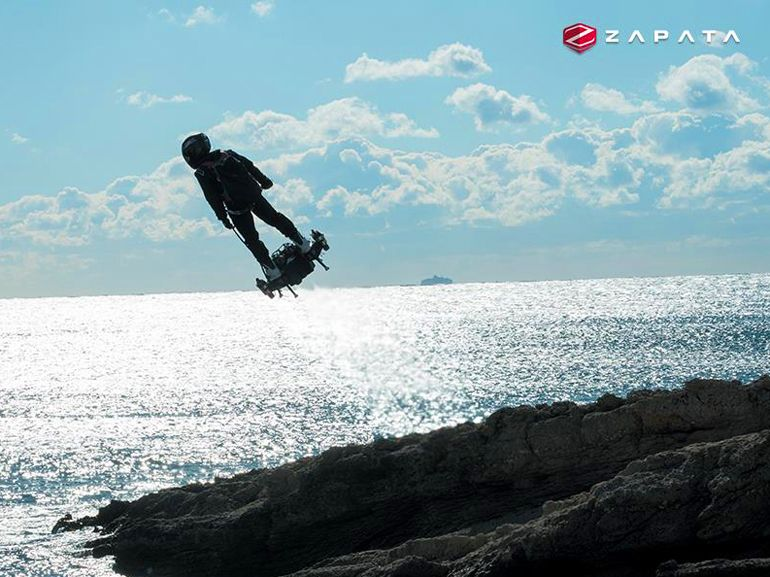 Franky Zapata et son Flyboard Air reprennent du service