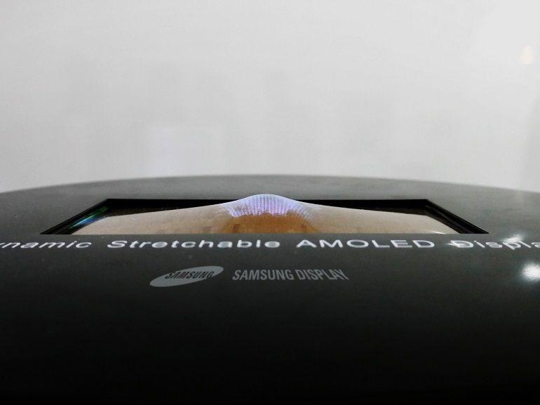 Samsung entend lancer son smartphone à écran pliable en 2018