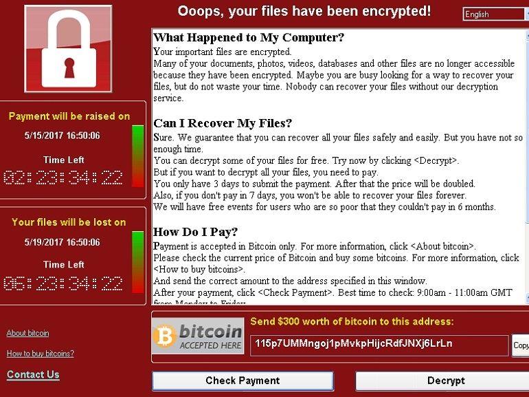 WannaCry : la solution se situe entre la chaise et le clavier !