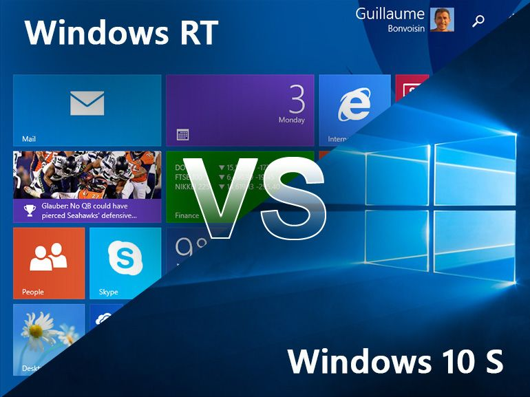 Pourquoi Windows 10 S est différent de Windows RT