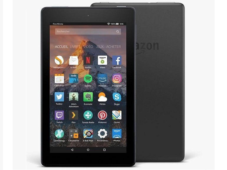 Test de l'Amazon Fire 7 (2017), toujours la meilleure tablette à moins de 100€ ?