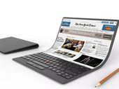 Lenovo dévoile un concept de PC portable futuriste à écran pliable