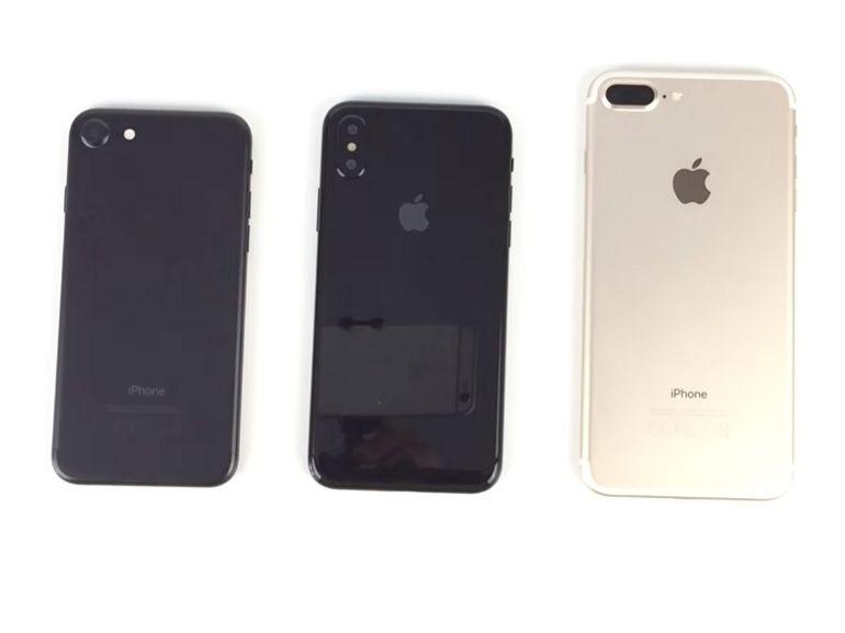 iPhone 8 : une maquette s'expose en vidéo pour matérialiser les rumeurs