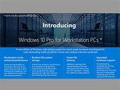 Windows 10 : de nouvelles déclinaisons Pro pour les entreprises