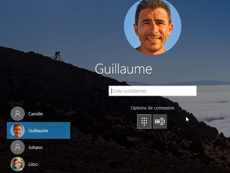 Windows 10 : réinitialisation du mot de passe Microsoft dès l'écran de verrouillage