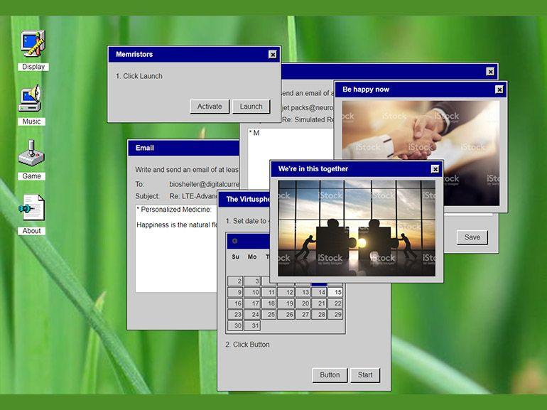 (Re)découvrir Windows 95 au travers d'un jeu avec un simple navigateur web