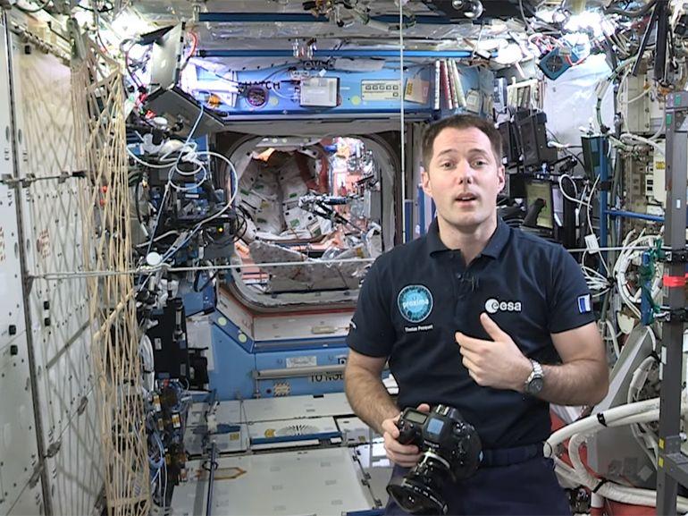 Visitez virtuellement l'ISS grâce à Google et Thomas Pesquet