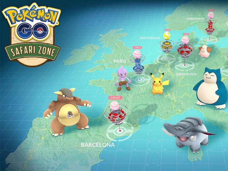 Pokémon Go Safari Zone : un événement spécial à Paris le 16 septembre