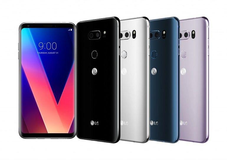 IFA 2017 - Le nouveau smartphone LG V30 à découvrir en images