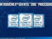Intel officialise ses processeurs Core i Coffee Lake pour PC portables