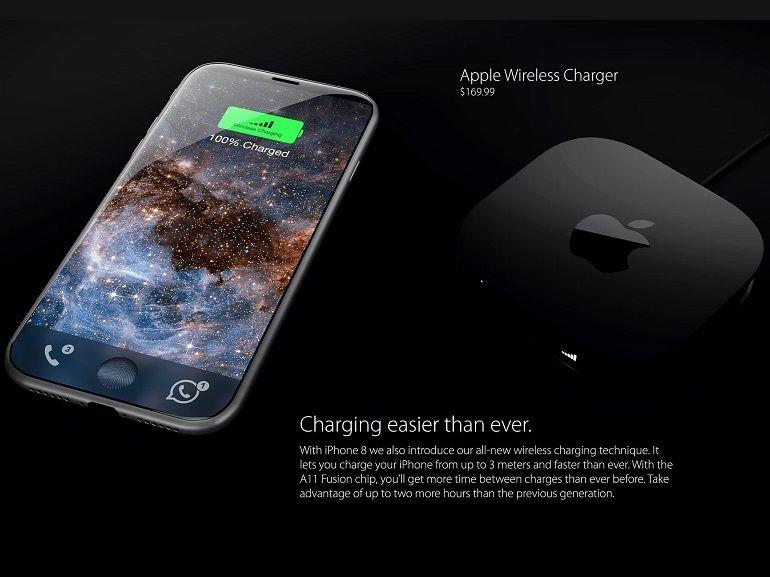 Comment l'iPhone 8 pourrait révolutionner le chargement sans-fil