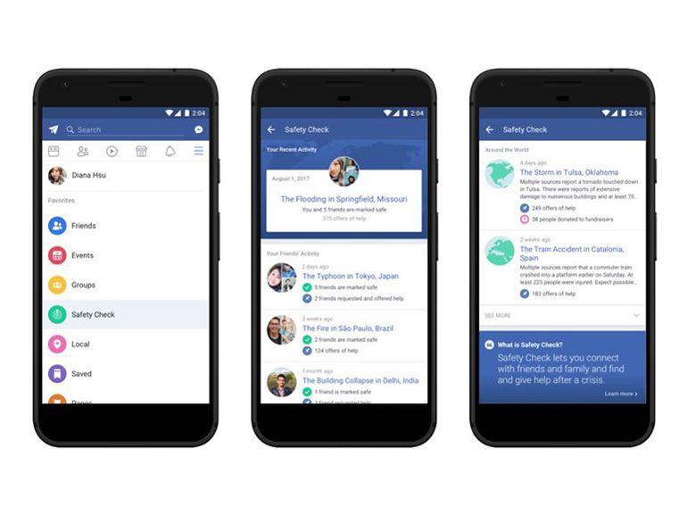 Facebook : Safety Check s'installe de manière permanente