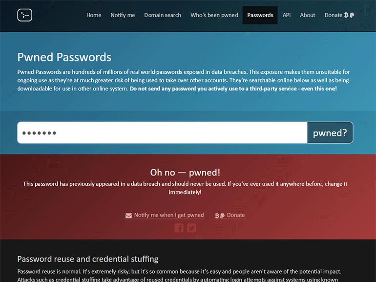 Mots de passe : vérifiez si les vôtres n'ont pas déjà été piratés