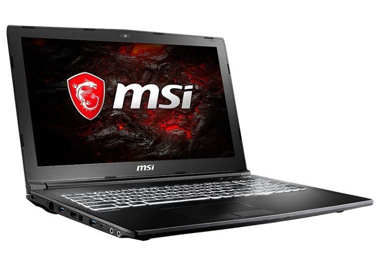 Gearbest : un portable gamer MSI GL62M 7REX - 1252CN à 818 euros