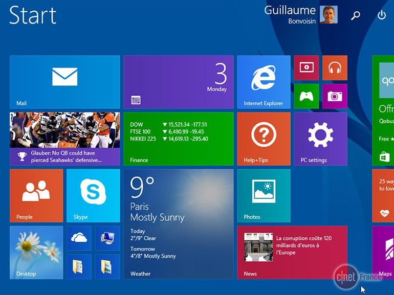 Windows 8.1 : un bug bloque les comptes Microsoft sur PC