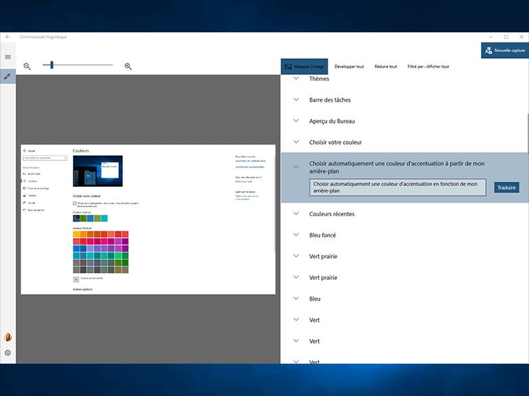 Windows 10 : une application pour améliorer les traductions dans le système