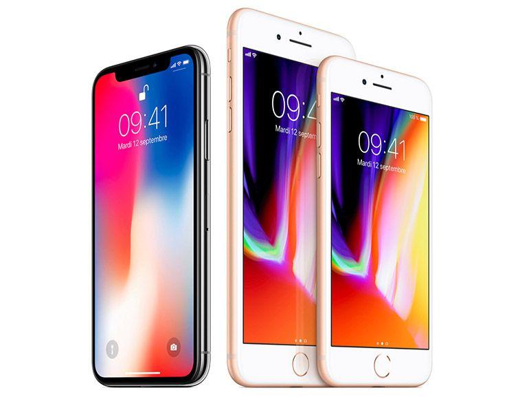 Comparatif iPhone X vs iPhone 8 et 8 Plus vs iPhone 7 et 7 Plus : quelles différences ?