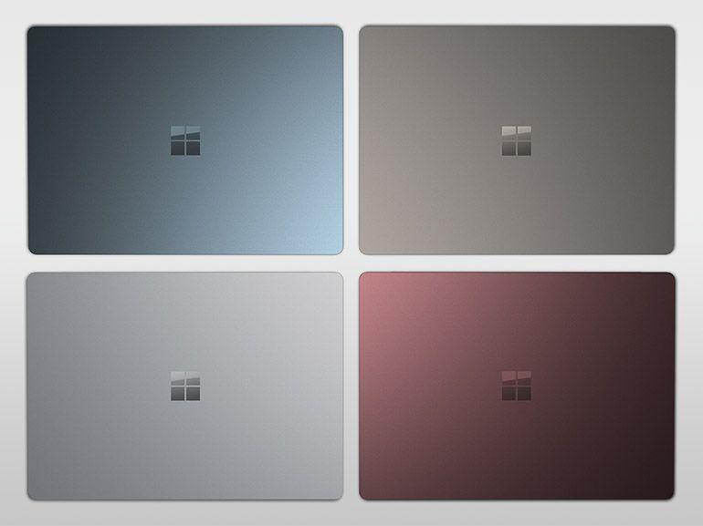 Surface Laptop : de nouvelles couleurs et plus de temps pour passer sur la version Pro