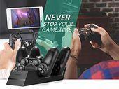 Bon plan : un chargeur et support de manettes PS4 à 11,89 euros