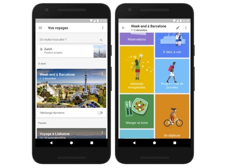 Google Trips : le guide de voyage est disponible en Français sur Android et iOS