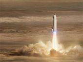SpaceX développe une énorme fusée pour coloniser mars dès 2024