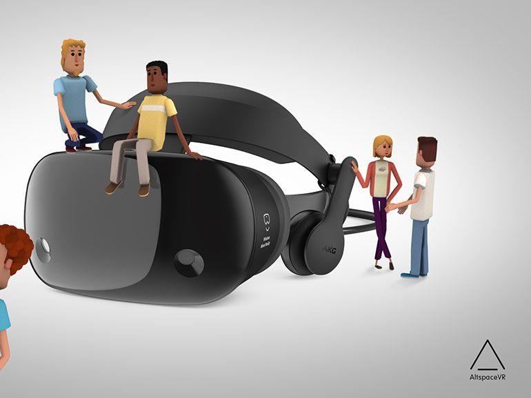 Réalité Mixte Windows : casques en précommande, SteamVR et réseau social en réalité virtuelle
