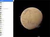 Google Maps permet désormais d'explorer les planètes