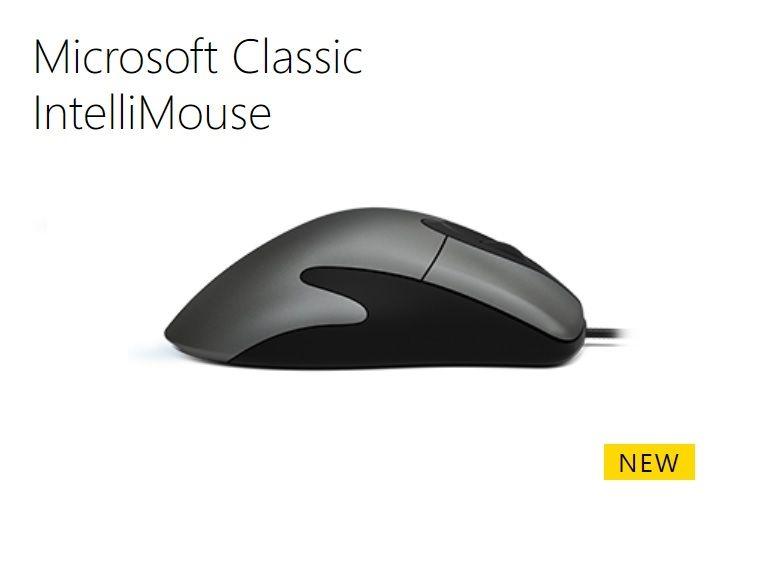 Microsoft ressuscite la célèbre souris IntelliMouse