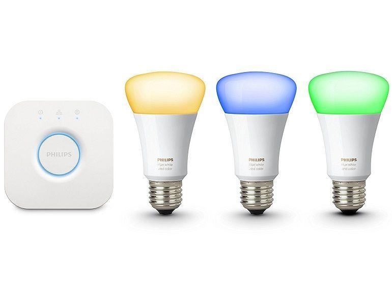 Test des ampoules connectées Philips Hue, kit de démarrage