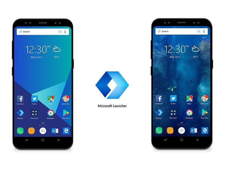 Arrow Launcher devient Microsoft Launcher pour Android et fait le lien avec Windows 10